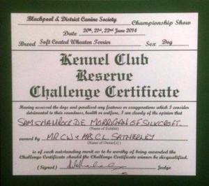 Sam RCC Blackpool 2014