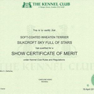 Lola Gains Show Certificate Of Merit Award
