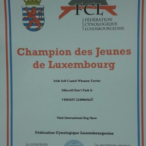 Enya Becomes Luxembourg Junior Champion
